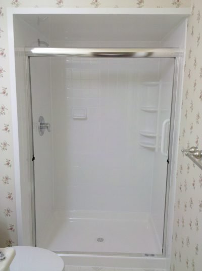 Acrylic Wall shower replacement 4 inch sim tile Milwaulkie OR