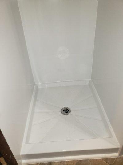 Custom made shower pan Wilsonville OR