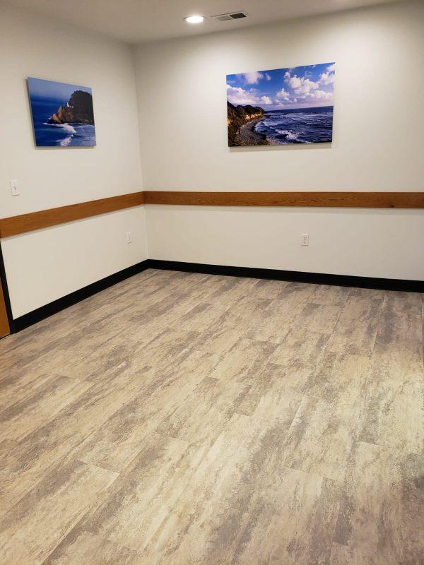 Flooring Remodel Medical Office Portland OR