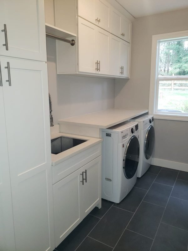Laundry Room Remodel Mulino OR