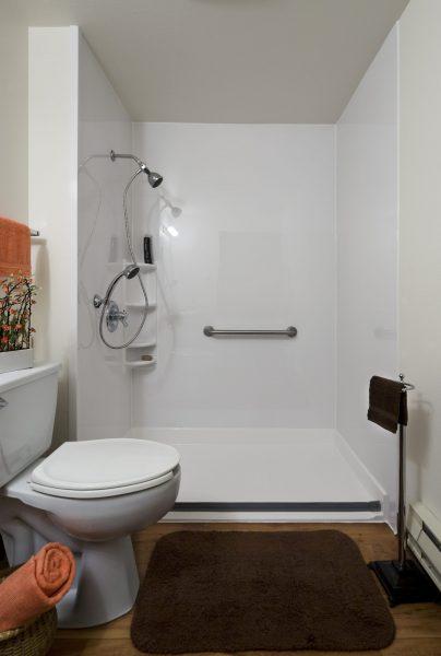 Barrier Free Shower Portland
