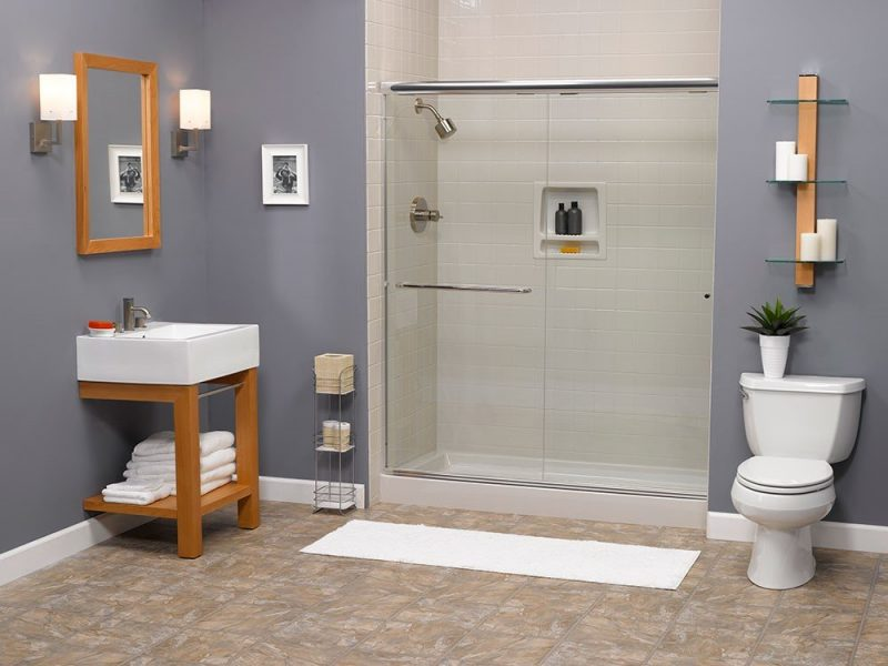 Shower install Portland